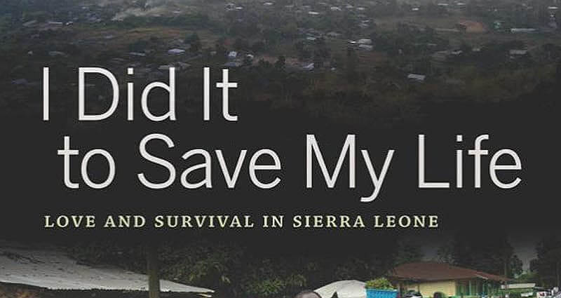 I Did It To Save My Life Book